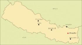 チャムラン地図